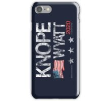 Knope 2020 Distressed iPhone Case/Skin