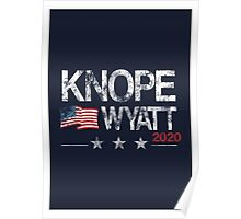 Knope 2020 Distressed Poster