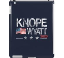 Knope 2020 Distressed iPad Case/Skin