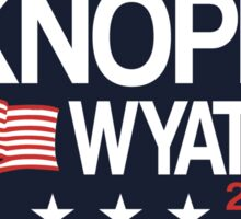 Knope 2020 Distressed Sticker