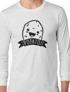TEAM POTATO ERMAHGERD Funny Men's Tshirt Long Sleeve T-Shirt