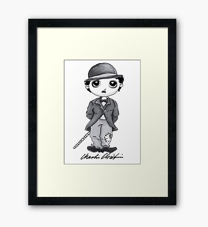 The Chibi Tramp Framed Print