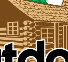 Outdoor School Cabin Sticker
