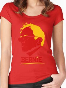 Bernie For America Women's Fitted Scoop T-Shirt