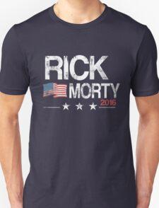 R & M Distressed T-Shirt