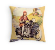 Ariel : Modern Motorcycles Throw Pillow