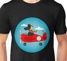 Pilot Dog Unisex T-Shirt