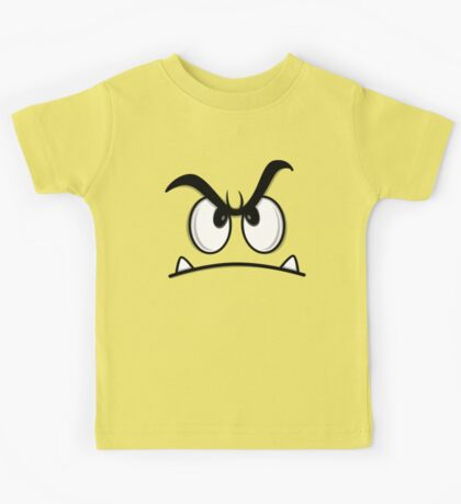 ANGRY FACE Kids Tee