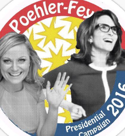 Poehler-Fey 2016 Sticker
