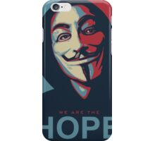 Anonymous is our Hope iPhone Case/Skin