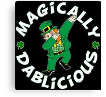 Dab Leprechaun Canvas Print