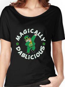 Dab Leprechaun Women's Relaxed Fit T-Shirt