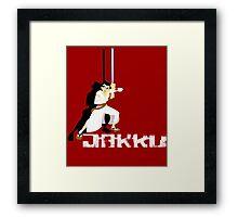 Samurai Jakku Framed Print