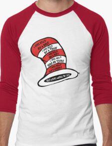 Red Across America day  Men's Baseball ¾ T-Shirt