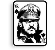 lemmy is king Canvas Print