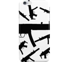Assortment of MP5 Machine Guns iPhone Case/Skin