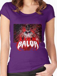 Finn Balor Black Shirt Women's Fitted Scoop T-Shirt