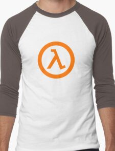 Half Life Lambda Men's Baseball ¾ T-Shirt