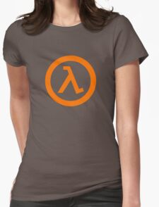 Half Life Lambda Womens Fitted T-Shirt