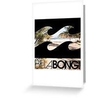 Billabong Greeting Card