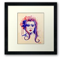Watercolor Woman Framed Print