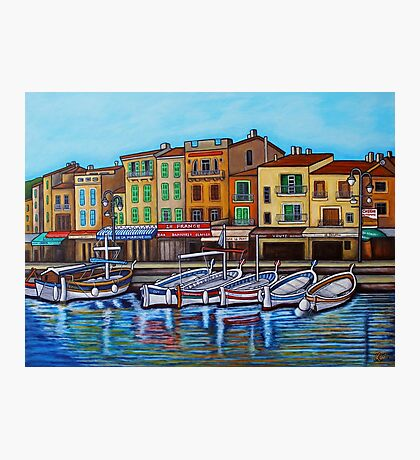 Colours of Cassis Photographic Print