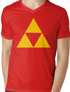 Triangle Zelda Mens V-Neck T-Shirt