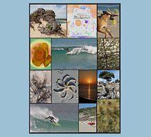 Collage Surf Tee Design Margaret River Western Australia Unisex T-Shirt