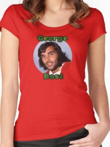 George Best - Tribute to El Beatle Women's Fitted Scoop T-Shirt