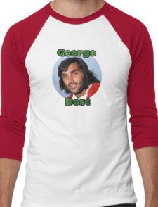 George Best - Tribute to El Beatle Men's Baseball ¾ T-Shirt
