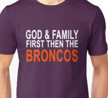 God Family & The Broncos Unisex T-Shirt