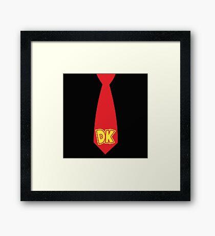 DK's TIE Framed Print