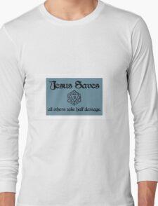 D&D Jesus Long Sleeve T-Shirt