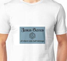 D&D Jesus Unisex T-Shirt