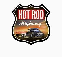 hot rod : highway Men's Baseball ¾ T-Shirt