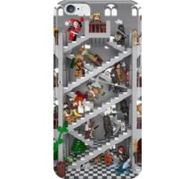 Crossed staircase in Lego® iPhone Case/Skin