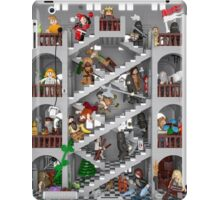 Crossed staircase in Lego® iPad Case/Skin