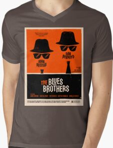 classic movie : The Blues Brothers Mens V-Neck T-Shirt
