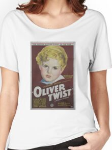 classic movie : Oliver Twist Women's Relaxed Fit T-Shirt