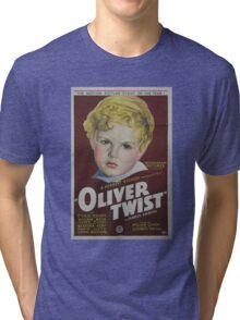 classic movie : Oliver Twist Tri-blend T-Shirt