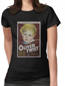 classic movie : Oliver Twist Womens Fitted T-Shirt