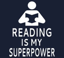 Reading Is My Superpower Kids Tee