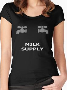 Milk Supply Women's Fitted Scoop T-Shirt