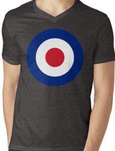 RAF Roundel Mens V-Neck T-Shirt