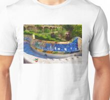 Gaudi's Park Guell - Impressions Of Barcelona Unisex T-Shirt