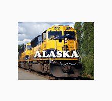 Alaska Railroad train engine (caption) Unisex T-Shirt