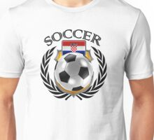 Croatia Soccer 2016 Fan Gear Unisex T-Shirt