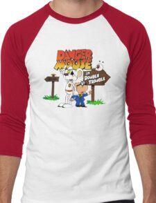 DOUBLE TROUBLE MOUSE Men's Baseball ¾ T-Shirt