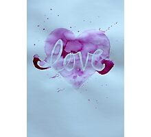 Love. Photographic Print
