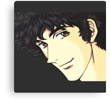 Spike Spiegel from the Anime/Manga Cowboy Bebop Original Digital Painting (face only) Canvas Print